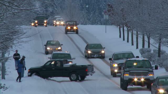 View of winter season in Portland USA