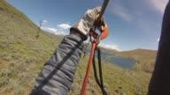 KSTU View of Ziplining from GoPro Camera at Zipline Utah at Deer Creek Reservoir in Salt Lake City Utah on May 18 2017
