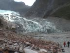 View on the Franz Josef Glacier