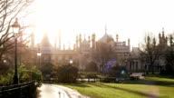 View on the Royal Pavilion, Brighton, UK