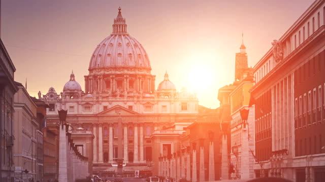 View on Via della Conciliazione in Vatican, Rome