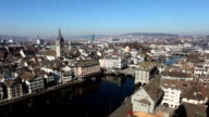 View on Zurich - Time Lapse