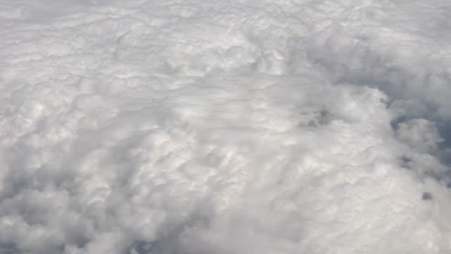 Blick aus einem Flugzeug