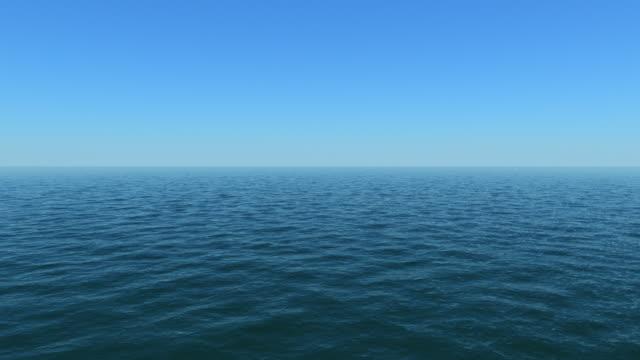 Blick auf das Meer – ruhigen Wasser