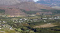 WS PAN HA View over Berg river valley / Franschhoek, Western Cape, South Africa