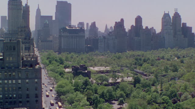WS HA View over Central Park with city skyline