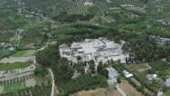 WS AERIAL DS View over Knossos / Heraklion, Crete, Greece