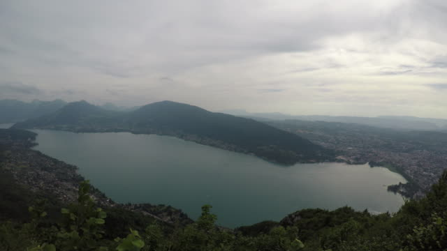 View over Lake Annecy