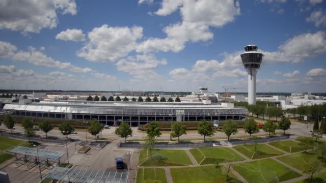 Blick auf München Airport