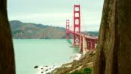 Blick auf den Golf von San Francisco und die Golden Gate Bridge
