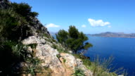 View to Pollenca Port in Majorca