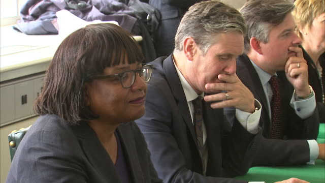 Views inside the Labour party's Shadow Cabinet meeting