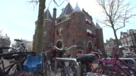 Views of a 500year old former fort in Amsterdam