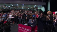 Views of an appreciative audience at the Labour party conference Brighton September 2017 NNBY446R ABSA627D