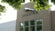 Views of the Land Rover and Jaguar Dealership in Southampton NY July 2223 2017 Photographer Timothy Fadek Shots shot of building with Land Rover logo...