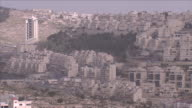 Views of the Ma'ale Adumim Israeli settlement in the West Bank