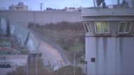 Views of the West Bank Barrier wall in Bethlehem