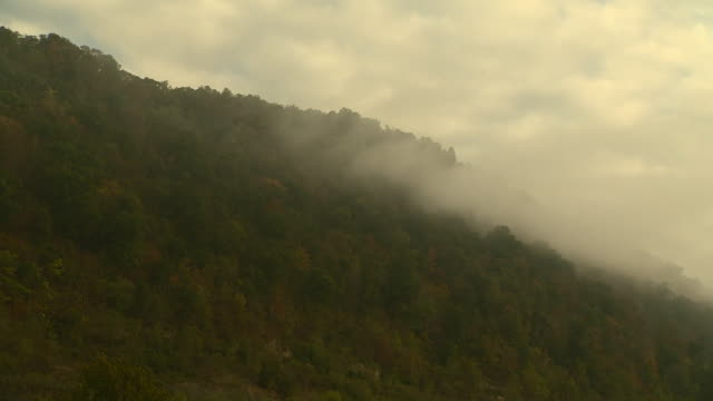 Views of West Virginia including the Appalachian mountain range and coalmines