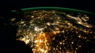 / Views on a pass of the International Space Station from west of the United Kingdom over Ireland to southeast of the Arabian Peninsula / English...