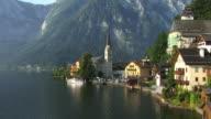 WS, HA, Village Hallstatt at Hallstatter lake, Austria
