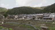 WS PAN Village in hilly landscape near Kyoto, Japan
