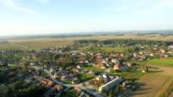 AERIAL Village an einem sonnigen Tag