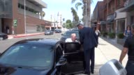 Vin Scully shopping in Beverly Hills at Celebrity Sightings in Los Angeles on June 23 2017 in Los Angeles California