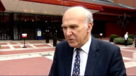 Vince Cable announces copyright law reforms ENGLAND London British Library EXT Vince Cable MP interview SOT Millions of people buy CDs legally they...