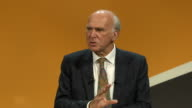 Vince Cable speaking at a party conference in Bournemouth says that the Liberal Democrats are 'not a single issue party not UKIP in reverse' and they...