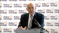 Vince Cable speech at Policy Exchange Cable speech SOT There is also a market failure where it is not possible to fund high risk but potentially...