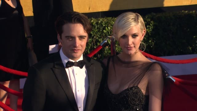 Vincent Piazza and Ashlee Simpson at 18th Annual Screen Actors Guild Awards Arrivals on 1/29/2012 in Los Angeles CA