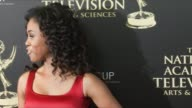 Vinessa Antoine at the 2014 Daytime Emmy Awards at The Beverly Hilton Hotel on June 22 2014 in Beverly Hills California
