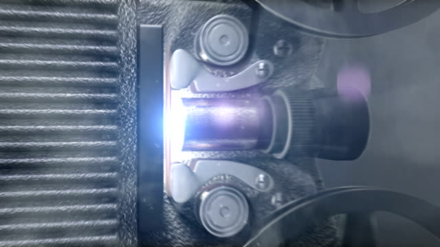 Conto alla rovescia Film Vintage (proiettore luminoso e basso contrasto