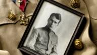 Vintage Military Portrait