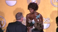 Viola Davis at 18th Annual Screen Actors Guild Awards Press Room on 1/29/12 in Los Angeles CA
