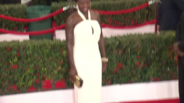 Viola Davis at 21st Annual Screen Actors Guild Awards Arrivals in Los Angeles CA