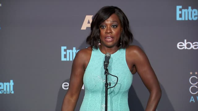 INTERVIEW Viola Davis at 22nd Annual Critics' Choice Awards in Los Angeles CA