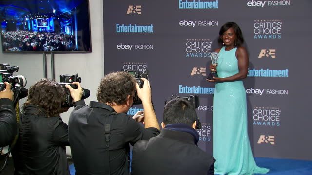 Viola Davis at 22nd Annual Critics' Choice Awards in Los Angeles CA