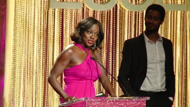 SPEECH Viola Davis at ESSENCE Presents 10th Anniversary Black Women in Hollywood Awards Gala in Los Angeles CA