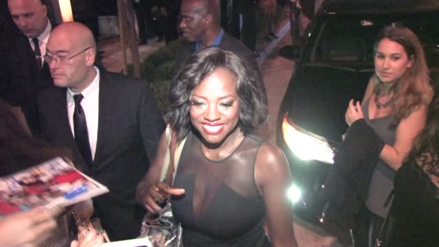 Viola Davis at Gracias Madre restaurant in West Hollywood at Celebrity Sightings in Los Angeles on September 26 2015 in Los Angeles California