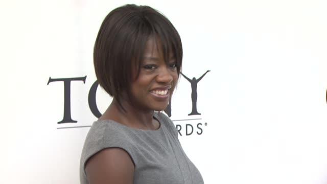 Viola Davis at the 2010 Tony Awards Meet the Nominees Press Reception at New York NY