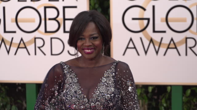 Viola Davis at the 73rd Annual Golden Globe Awards Arrivals at The Beverly Hilton Hotel on January 10 2016 in Beverly Hills California 4K