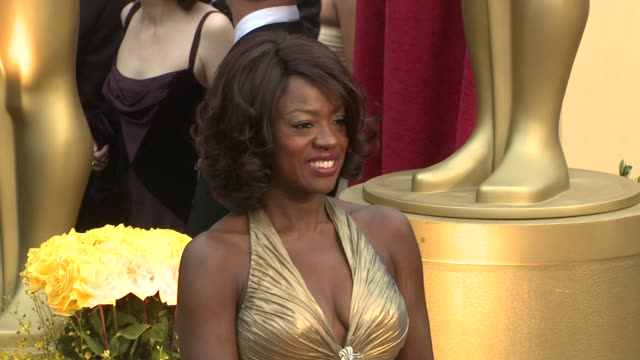 Viola Davis at the 81st Academy Awards Arrivals Part 5 at Los Angeles CA