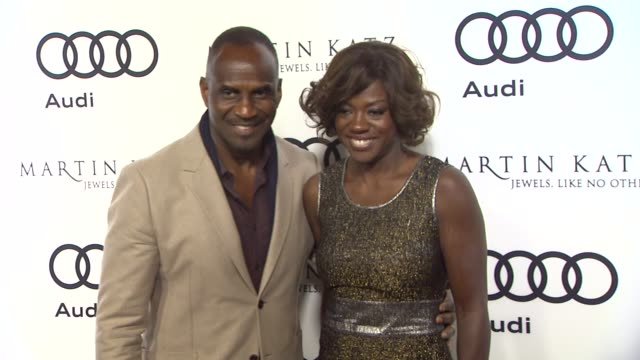 Viola Davis at the Audi And Martin Katz Celebrate The 2012 Golden Globe Awards in West Hollywood CA