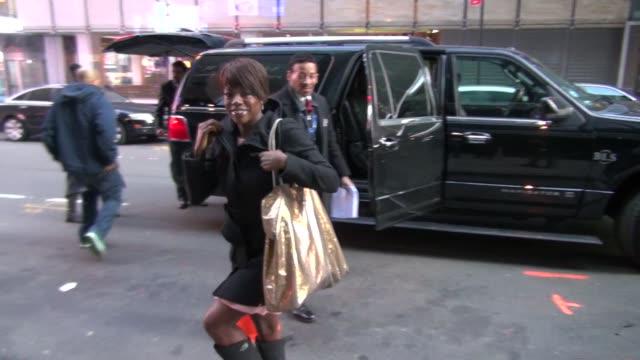 Viola Davis at the 'Good Morning America' show studio in New York on 2/9/2012