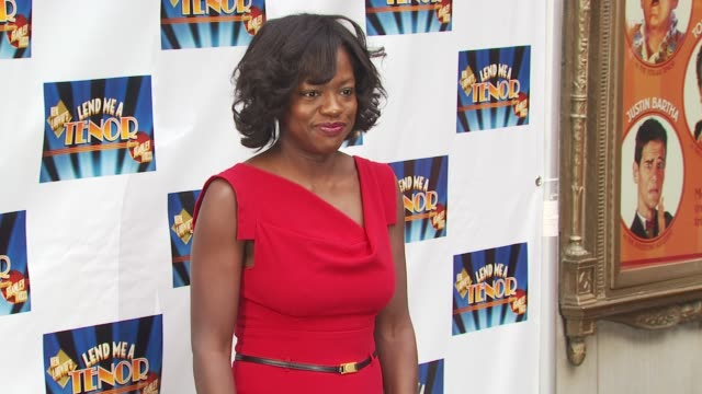 Viola Davis at the Opening Of 'Lend Me A Tenor' Arrivals at New York NY