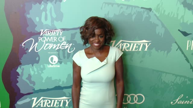 Viola Davis at Variety's 2014 Power of Women Luncheon at Four Seasons Hotel Los Angeles on October 10 2014 in Beverly Hills California