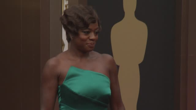 Viola Davis Julius Tennon 86th Annual Academy Awards Arrivals at Hollywood Highland Center on March 02 2014 in Hollywood California