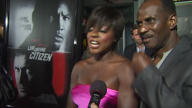 Viola Davis on her character and on working with Gerard and Jamie at the 'Law Abiding Citizen' Screening at Hollywood CA
