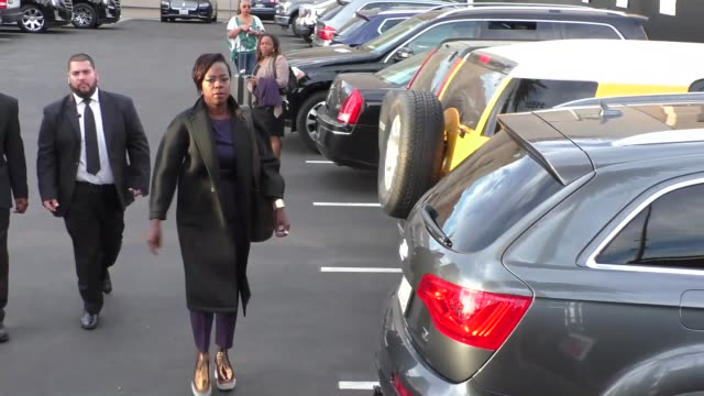 Viola Davis outside Jimmy Kimmel Live in Hollywood in Celebrity Sightings in Los Angeles